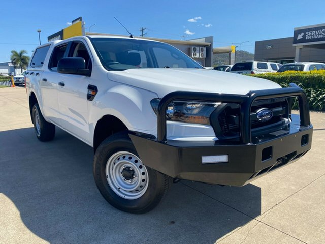 Used Ford Ranger PX XL Hi-Rider Townsville, 2015 Ford Ranger PX XL Hi-Rider White/291015 6 Speed Sports Automatic Utility