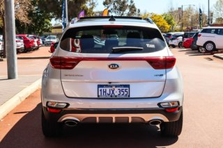 2021 Kia Sportage QL GT-Line Silver Sports Automatic SUV.