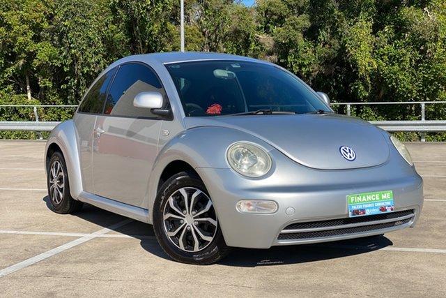 Used Volkswagen Beetle Ikon Morayfield, 2001 Volkswagen Beetle Ikon Silver 4 Speed Auto Active Select Coupe