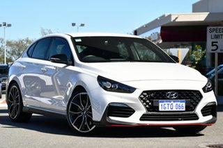 2019 Hyundai i30 PDe.3 MY19 N Fastback Performance White 6 Speed Manual Coupe.