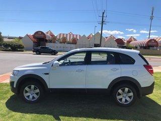 2014 Holden Captiva CG MY14 7 LS White 6 Speed Sports Automatic Wagon