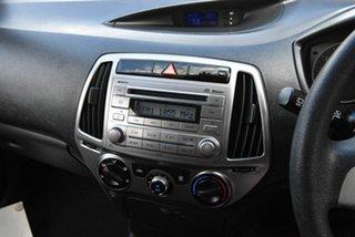 2012 Hyundai i20 PB MY12 Active Silver 5 Speed Manual Hatchback