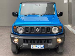2019 Suzuki Jimny JB74 Blue 5 Speed Manual Hardtop.