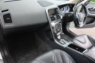2012 Volvo XC60 DZ MY13 T6 Geartronic AWD R-Design White 6 Speed Sports Automatic Wagon