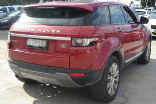 2014 Land Rover Range Rover Evoque L538 MY14 Coupe Prestige Red 9 Speed Sports Automatic Wagon