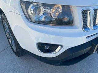 2014 Jeep Compass MK MY15 Limited White 6 Speed Sports Automatic Wagon