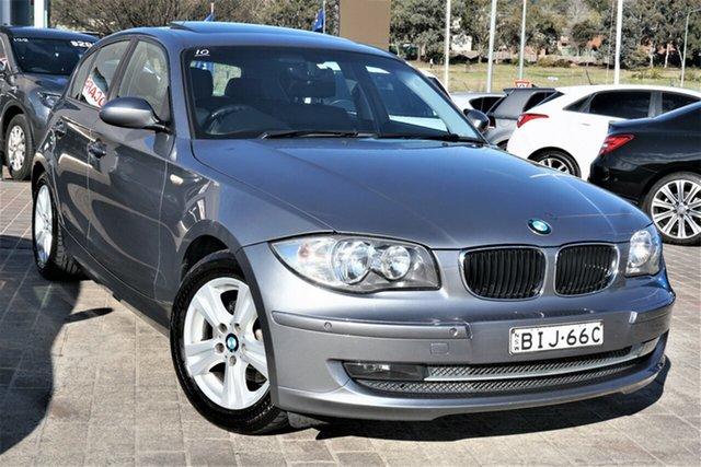 Used BMW 118i E87 MY09 118i Phillip, 2009 BMW 118i E87 MY09 118i Grey 6 Speed Automatic Hatchback