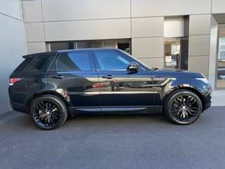 2013 Land Rover Range Rover Sport L494 MY14 SE Black 8 Speed Sports Automatic Wagon.