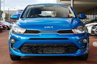 2021 Kia Rio YB MY22 S Blue 6 Speed Automatic Hatchback.