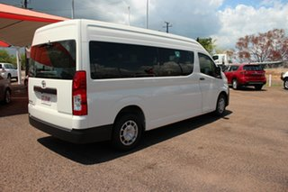 2020 Toyota HiAce GDH322R Commuter High Roof Super LWB French Vanilla 6 Speed Sports Automatic Bus
