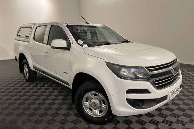 Used Holden Colorado RG MY17 LS Pickup Crew Cab 4x2 Acacia Ridge, 2017 Holden Colorado RG MY17 LS Pickup Crew Cab 4x2 White 6 speed Automatic Utility