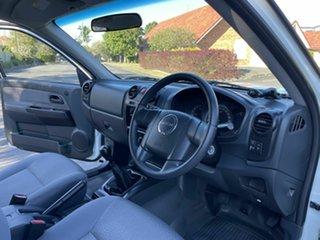 2012 Isuzu D-MAX SX White 5 Speed Manual Dual Cab