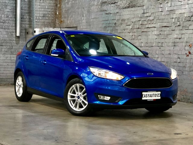 Used Ford Focus LZ Trend Mile End South, 2016 Ford Focus LZ Trend Blue 6 Speed Automatic Hatchback