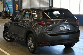 2018 Mazda CX-5 MY18 (KF Series 2) Maxx Sport (4x4) Machine Grey 6 Speed Automatic Wagon.