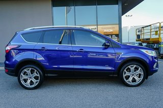 2017 Ford Escape ZG Titanium Blue 6 Speed Sports Automatic Dual Clutch SUV.
