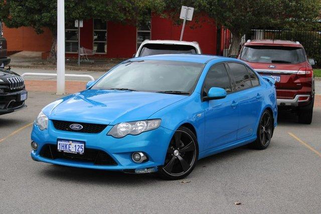 Used Ford Falcon FG XR6 Midland, 2008 Ford Falcon FG XR6 Blue 5 Speed Sports Automatic Sedan