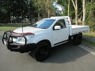 2015 Holden Colorado RG MY16 LS 4x2 White 6 Speed Manual Cab Chassis.