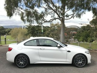 2018 BMW M2 F87 LCI Competition M-DCT White 7 Speed Sports Automatic Dual Clutch Coupe.