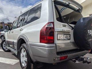2005 Mitsubishi Pajero NP MY05 GLS White 5 Speed Sports Automatic Wagon