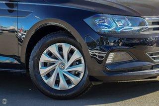 2021 Volkswagen Polo AW MY21 70TSI DSG Trendline Deep Black Pearl Effect 7 Speed