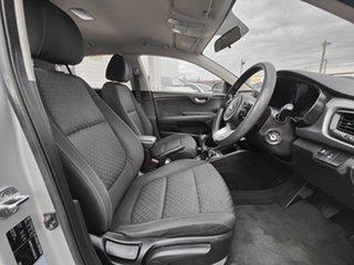 2017 Kia Rio YB MY17 S Silver 6 Speed Manual Hatchback.
