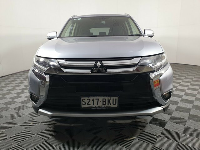 Used Mitsubishi Outlander ZK MY16 XLS 2WD Wayville, 2016 Mitsubishi Outlander ZK MY16 XLS 2WD Cool Silver 6 Speed Constant Variable Wagon
