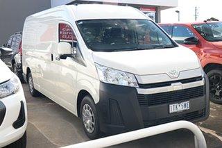 2020 Toyota HiAce GDH320R High Roof Super LWB White 6 Speed Sports Automatic Van.