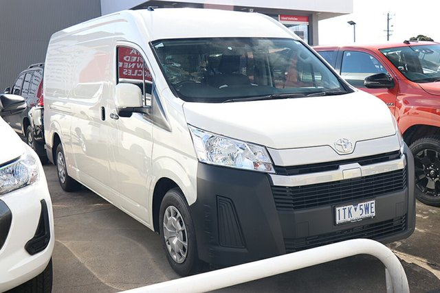 Pre-Owned Toyota HiAce GDH320R High Roof Super LWB Preston, 2020 Toyota HiAce GDH320R High Roof Super LWB White 6 Speed Sports Automatic Van