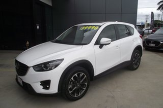 2016 Mazda CX-5 KE1022 Akera SKYACTIV-Drive i-ACTIV AWD Crystal White Pearl 6 Speed Sports Automatic