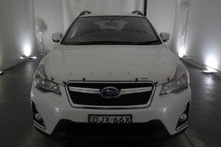 2016 Subaru XV G4X MY17 2.0i AWD White 6 Speed Manual Wagon.