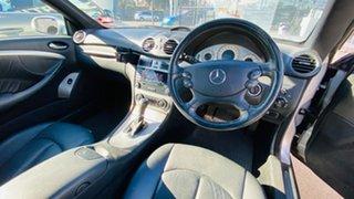 2005 Mercedes-Benz CLK-Class A209 MY06 CLK200 Kompressor Avantgarde Silver 5 Speed Automatic Coupe.