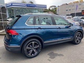 2021 Volkswagen Tiguan 5N MY21 110TSI Life DSG 2WD Night Shade Blue Metallic 6 Speed.