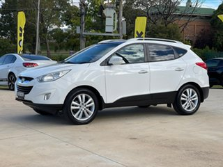 2013 Hyundai ix35 Highlander White Sports Automatic Wagon