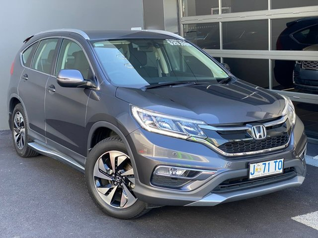 Used Honda CR-V RM Series II MY17 Limited Edition 4WD Hobart, 2016 Honda CR-V RM Series II MY17 Limited Edition 4WD Grey 5 Speed Sports Automatic Wagon