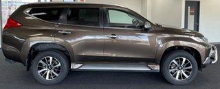 2017 Mitsubishi Pajero Sport QE MY17 GLS Brown 8 Speed Sports Automatic Wagon.
