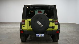 2016 Jeep Wrangler JK MY2016 Unlimited Sport Green 5 Speed Automatic Softtop