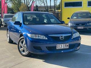 2005 Mazda 6 GG 05 Upgrade Classic Blue 6 Speed Manual Hatchback.