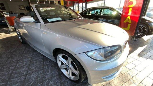 Used BMW 120i E88 120i Maidstone, 2008 BMW 120i E88 120i Silver 6 Speed Automatic Convertible