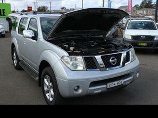 2008 Nissan Pathfinder R51 MY07 ST-L (4x4) Silver 5 Speed Automatic Wagon.
