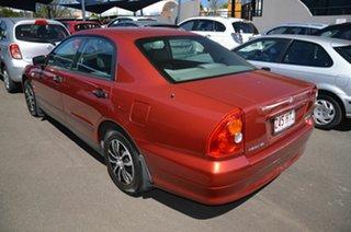 2003 Mitsubishi Magna TJ Executive Maroon 4 Speed Auto Sports Mode Sedan.