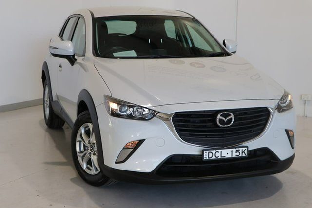 Used Mazda CX-3 DK2W7A Maxx SKYACTIV-Drive Wagga Wagga, 2015 Mazda CX-3 DK2W7A Maxx SKYACTIV-Drive White 6 Speed Sports Automatic Wagon
