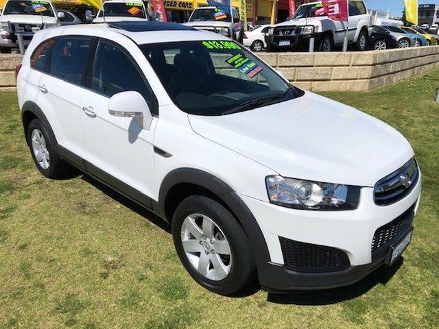 Used Holden Captiva CG MY14 7 LS Wangara, 2014 Holden Captiva CG MY14 7 LS White 6 Speed Sports Automatic Wagon