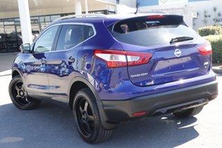 2015 Nissan Qashqai J11 TI Ink Blue 1 Speed Constant Variable Wagon.