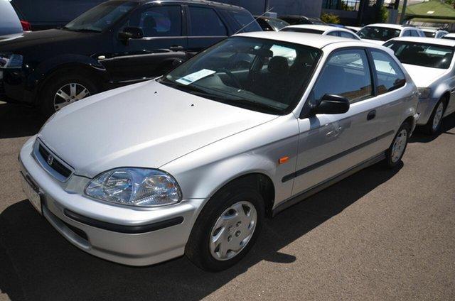 Used Honda Civic CXi Toowoomba, 1997 Honda Civic CXi Silver 4 Speed Automatic Hatchback