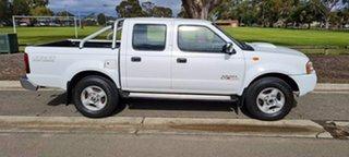 2009 Nissan Navara D22 MY08 ST-R (4x4) White 5 Speed Manual Dual Cab Pick-up.