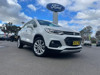 2020 Holden Trax LT White Automatic Wagon.