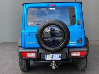 2019 Suzuki Jimny JB74 Blue 5 Speed Manual Hardtop