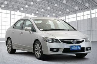 2009 Honda Civic 8th Gen MY10 Sport Silver 5 Speed Automatic Sedan.