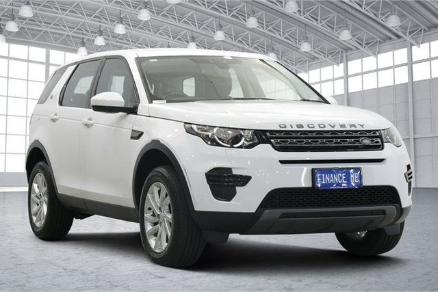 Used Land Rover Discovery Sport L550 18MY SE Victoria Park, 2018 Land Rover Discovery Sport L550 18MY SE White 9 Speed Sports Automatic Wagon