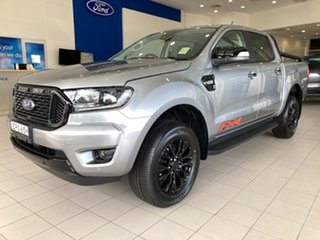 2021 Ford Ranger PX MkIII 2021.75MY FX4 Aluminium 6 Speed Sports Automatic Double Cab Pick Up.